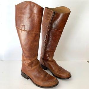 Steve Madden Reinaa Knee High Leather Boots Sz 7.5